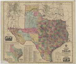 State Of Texas Map Map Collection Texas State Library And Archives Commission