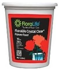 flower food packets cut flower food floralife clear 200 powdered