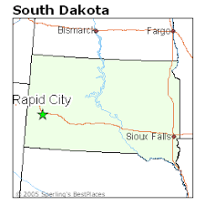 south dakota map with cities best places to live in rapid city south dakota