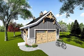 cabin plans with garage plan 890041ah 2 car detached garage plan with craftsman touches