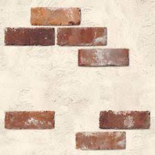 vintage shabby brick self adhesive wallpaper home depot peel stick