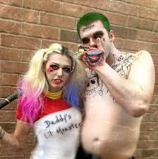 squad harley quinn u0026 the joker halloween makeup youtube