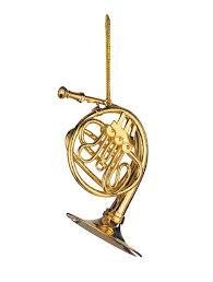 buy gold horn ornament gift