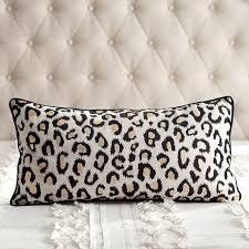 Pottery Barn Lumbar Pillow Covers The Emily U0026 Meritt Leopard Lumbar Pillow Cover Pbteen