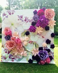 bouquet en papier diy wedding decoration inspo we love this idea creating big
