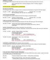 Sample Resume For Dentist by Caapid Coaching At Duggan U2013 Cvo Motion