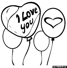 valentine u0027s coloring pages 1