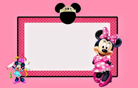 minnie mouse invitation printable free birthday party
