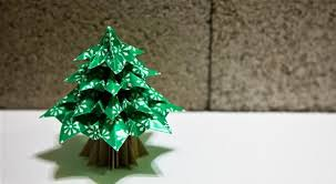 diy origami christmas tree math craft wonderhowto