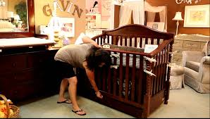 How To Convert Crib Into Toddler Bed by Mvi 8356 Youtube