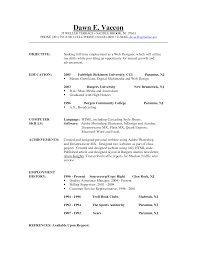 Sample Resume Work Objectives by Examples Of Work Objectives On Resumes Free Resume Example And