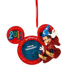 frame ornament 2014 sorcerer mickey mouse