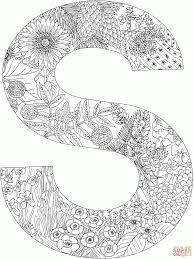 s letter s coloring pages snapsite me