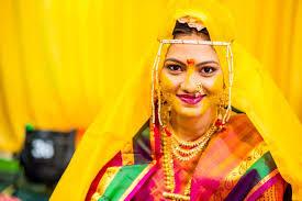 haldi ceremony invitation big fat maharashtrian wedding at manali resort pune knots forever
