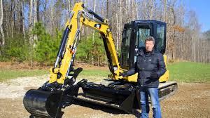 caterpillar 304 5e2 xtc mini hydraulic excavator overview youtube