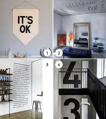 just my type 10 ways to incorporate text into your home decor