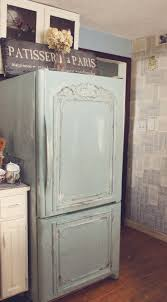 trois petites filles old fridge turned shabby french check out chic