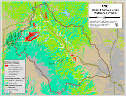Conifer Colorado Map by Maps U0026 Images U2013 Bailey Healthy Forests Initiative