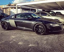 Audi R8 Blacked Out - custom audi r8 on instagram