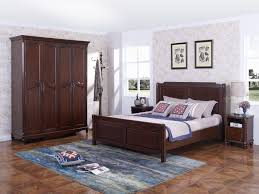 wood furniture thailand solid wood king queen bed in leisure