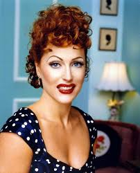 best cosplay ever gillian anderson as lucille ball geekosis