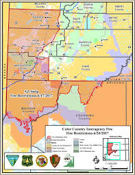 Map Of Counties In Utah by Fire Restrictions Issued For Southwest Utah Northwest Arizona