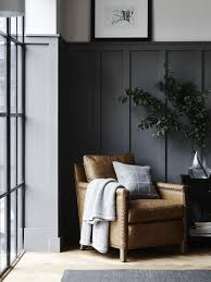 panelled walls grey tan olive green just the right amount of white and light