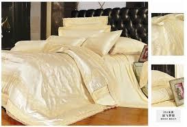 Yellow Bedding Set Purple Pink Silk Comforter Bedding Set King Size Comforters