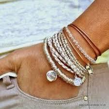 stacking bracelets chic silver stacking bracelets earrings silver