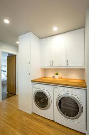 How To Install Wall Cabinets In Laundry Room Drying Rack Hanging Over Washer And Dryer Height Of Cabinets Above