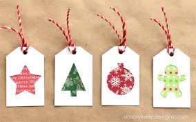 Pinterest Christmas Gift Tags