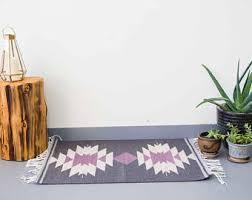 Colorful Living Room Rugs Navajo Rug Etsy