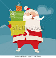 merry christmas vector card funny christmas stock vector 338054837