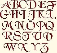 alphabet 1 pc letters pinterest alphabet plastic canvas and