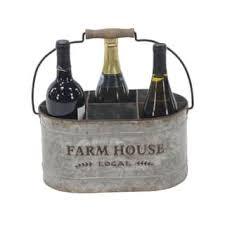 silver wine bottles silver wine racks for less overstock