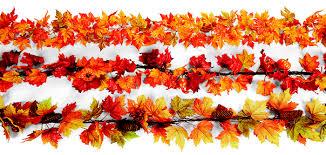 fall garland fall decor porch makeover