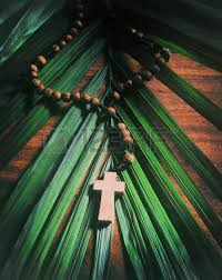 palm sunday crosses palm sunday background with cross stock photo picture and royalty