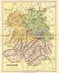 Map Of England And France by Shropshire Genealogy Heraldry And Family History