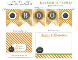 happy halloween banner free printable where to wednesday halloween parties for kids the chirping moms