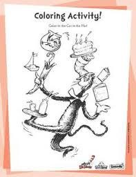 the cat in the hat coloring page the cat in the hat walmart com