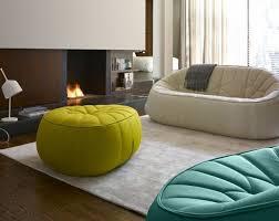 pouf pour canapé decoration canapé ligne roset pumpkin pouf assorti salon canapé