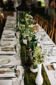 wedding reception table decorations with candles dreamy woodland