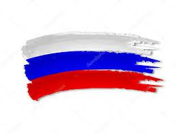 Colors Of Russian Flag Russian Flag Drawing U2014 Stock Photo Marinini 13373403