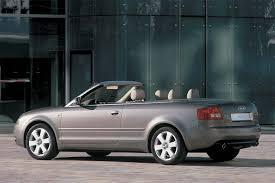 audi a4 convertible 2002 2002 08 audi a4 s4 consumer guide auto
