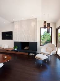 Porcelain Tile Fireplace Ideas by Modern Tile Fireplace Houzz