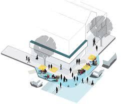 Architectural Diagrams Axo Diagram Street Corner Design U2014gehl Architects