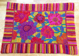 my latest harris tweed rag rug delivered to the bakehouse gallery