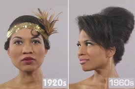 hairstyles through the years incredible time lapse footage shows how black women s hairstyles