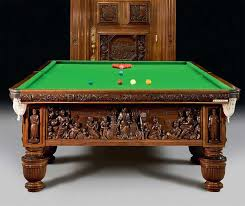 the most beautiful an expensive billiard table ever created