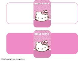 hello kitty birthday card template free free printable